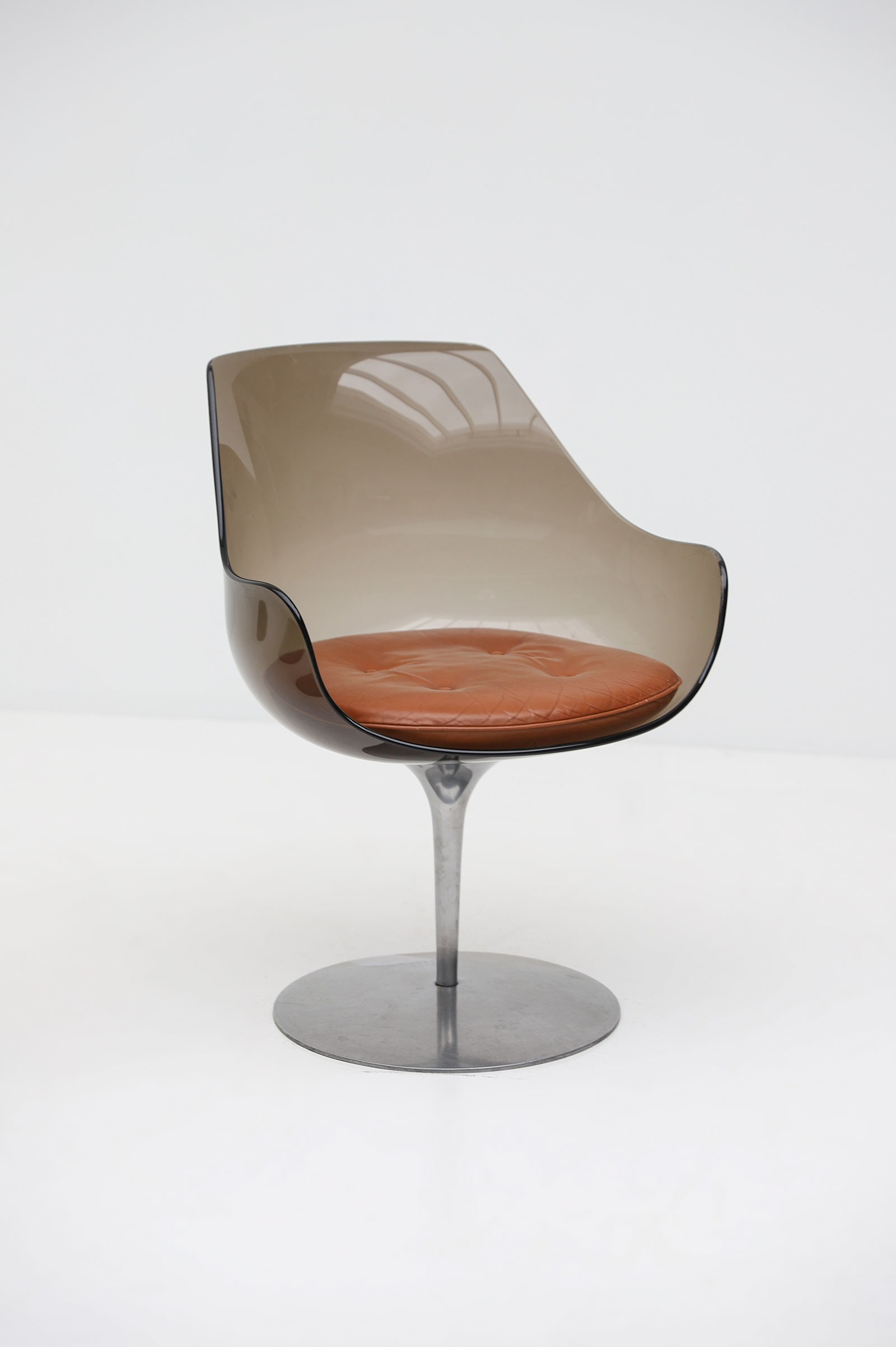 Laverne Champagne Chairs for  Formes Nouvelles