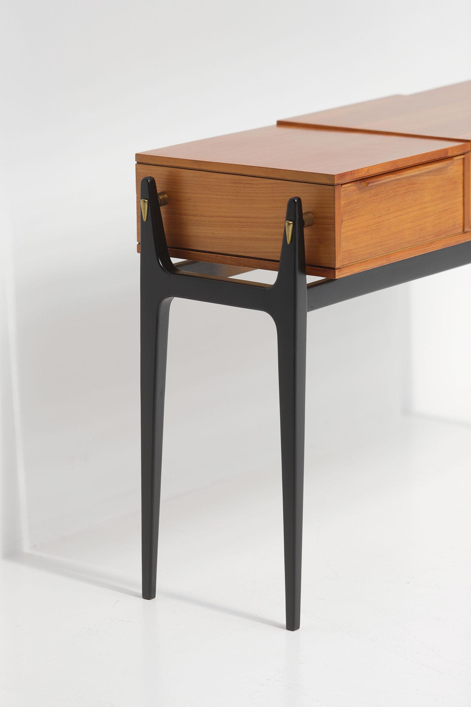 Elegant 50S Dressing Vanity Tableimage 3