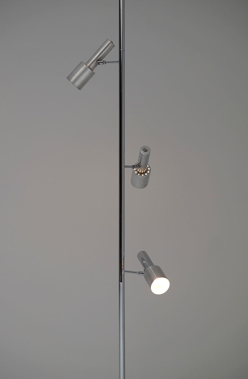Minimalistic 60S Adjustable Pole Floor Lamp image 2