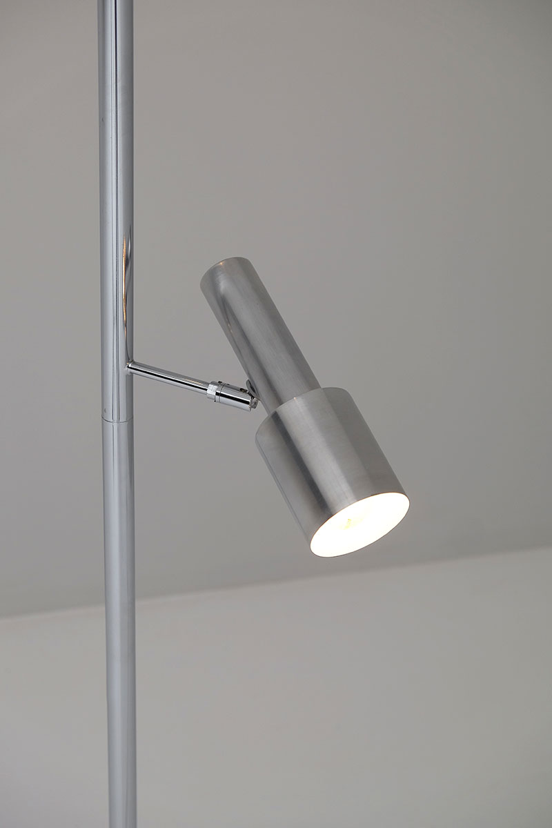 Minimalistic 60S Adjustable Pole Floor Lamp image 4
