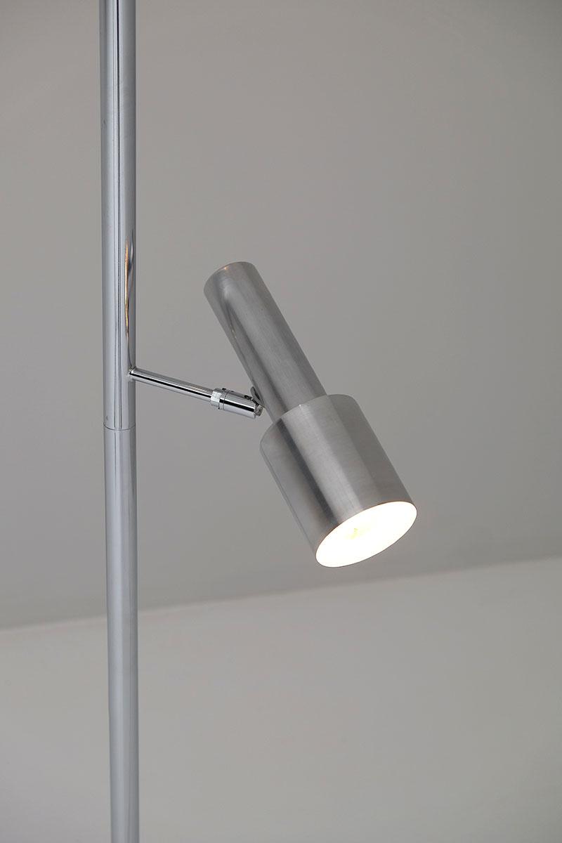 Minimalistic 60S Adjustable Pole Floor Lamp