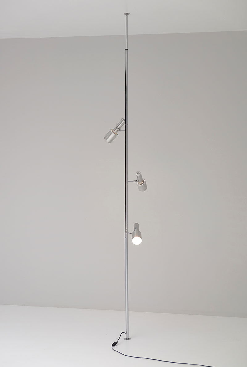 Minimalistic 60S Adjustable Pole Floor Lamp image 5