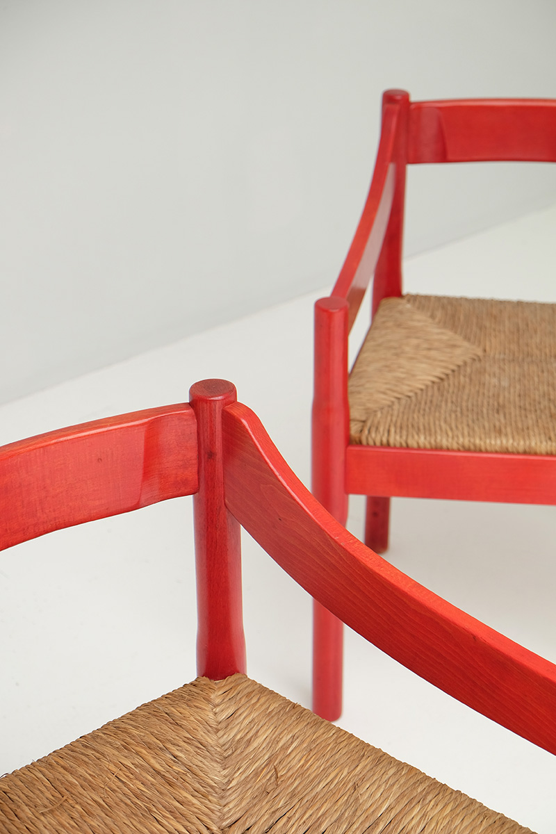 Carimate Chairs by Vico Magistrettiimage 4