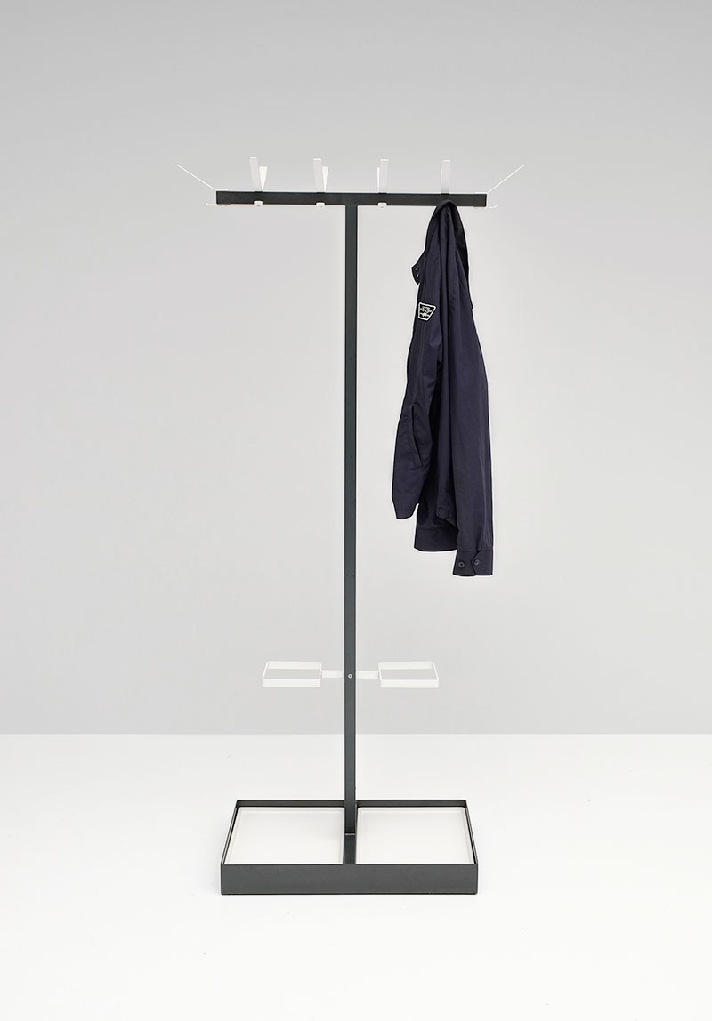 1960 minimalist Industrial coat hanger  image 1