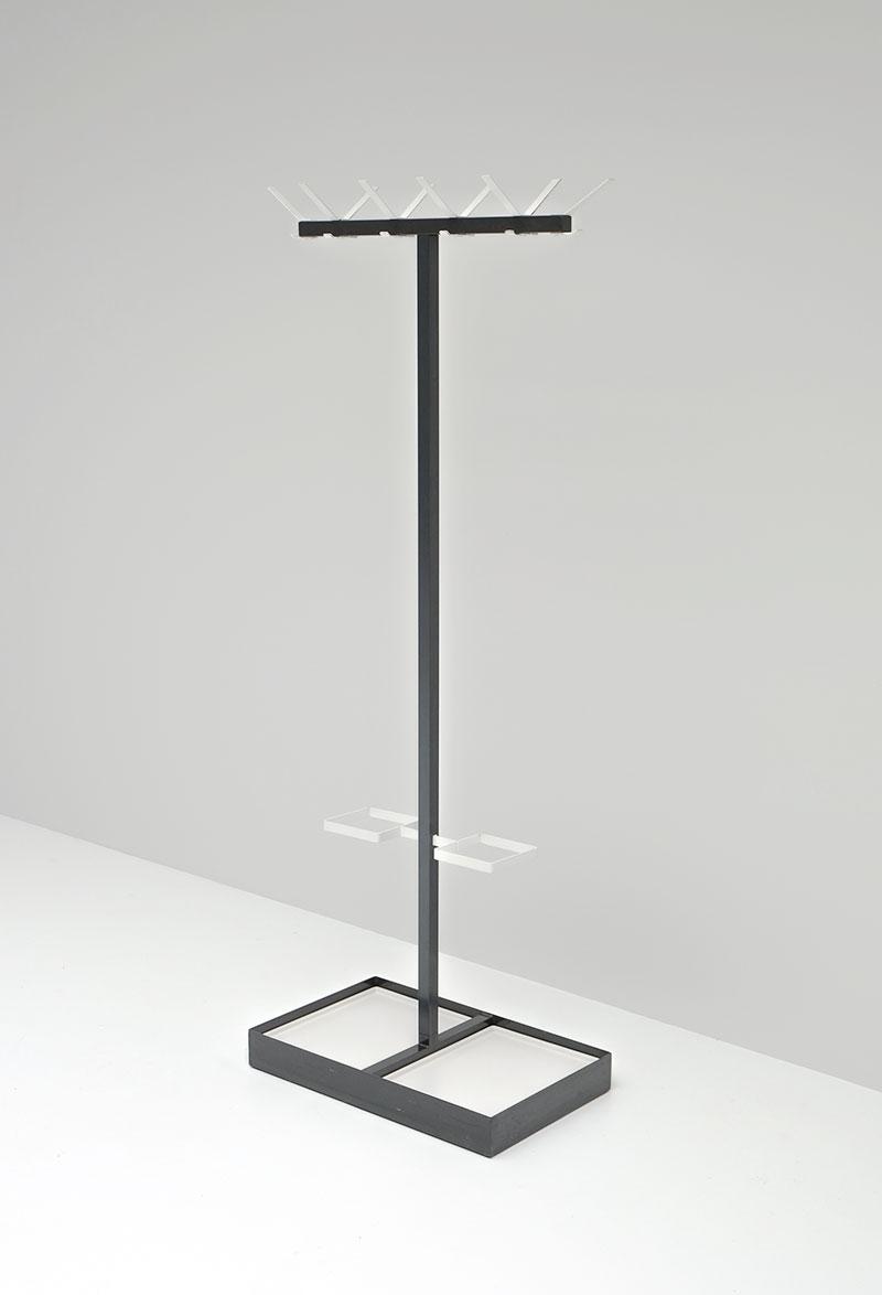 1960 minimalist Industrial coat hanger