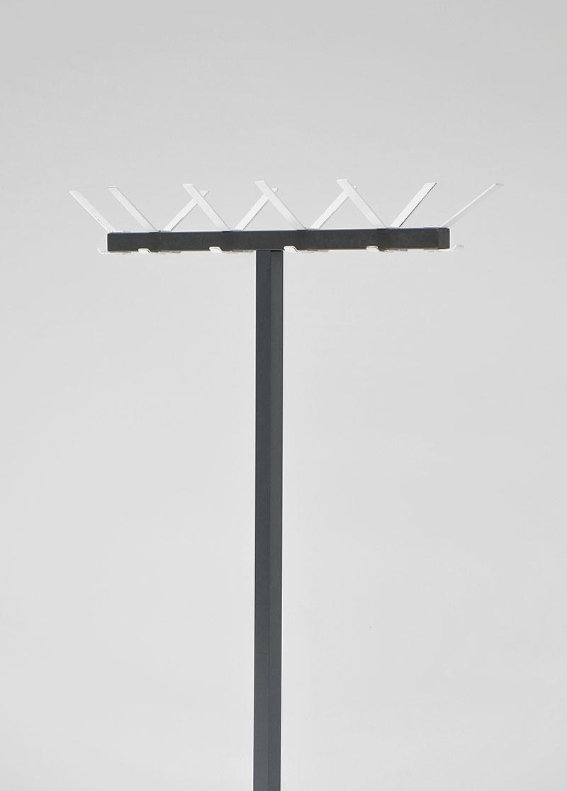 1960 minimalist Industrial coat hanger  image 5