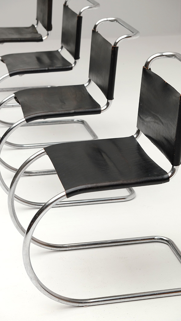 Chairs, Mies van der Rohe, Knoll, design, vintage
