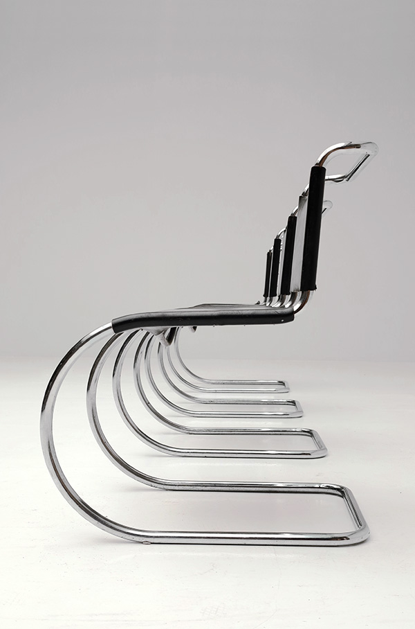 Chairs, Mies van der Rohe, Knoll, 1927