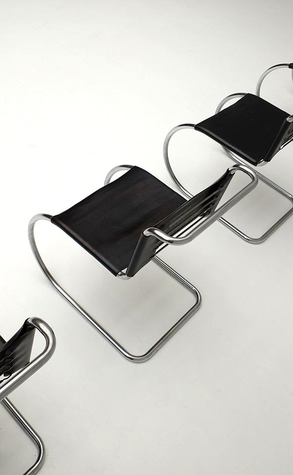 Chairs, Mies van der Rohe, Knoll, bauhaus, modernisme