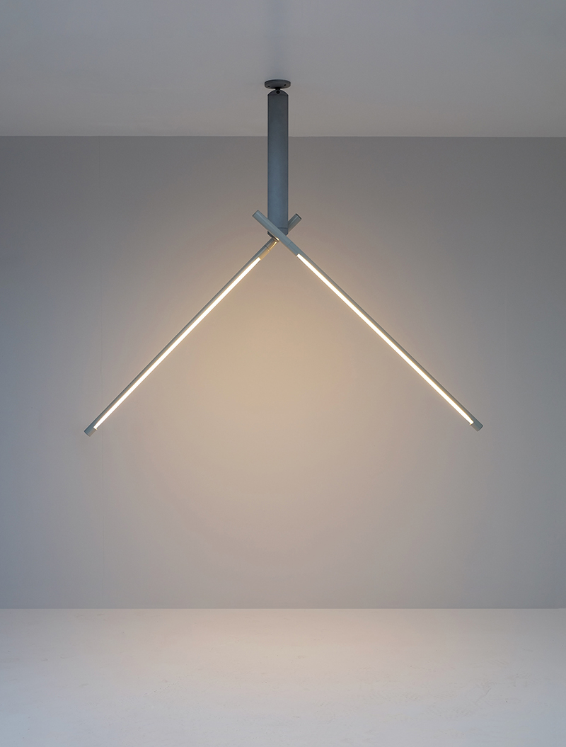 Rodolfo Bonetto Ceiling lamp for Luci Italy