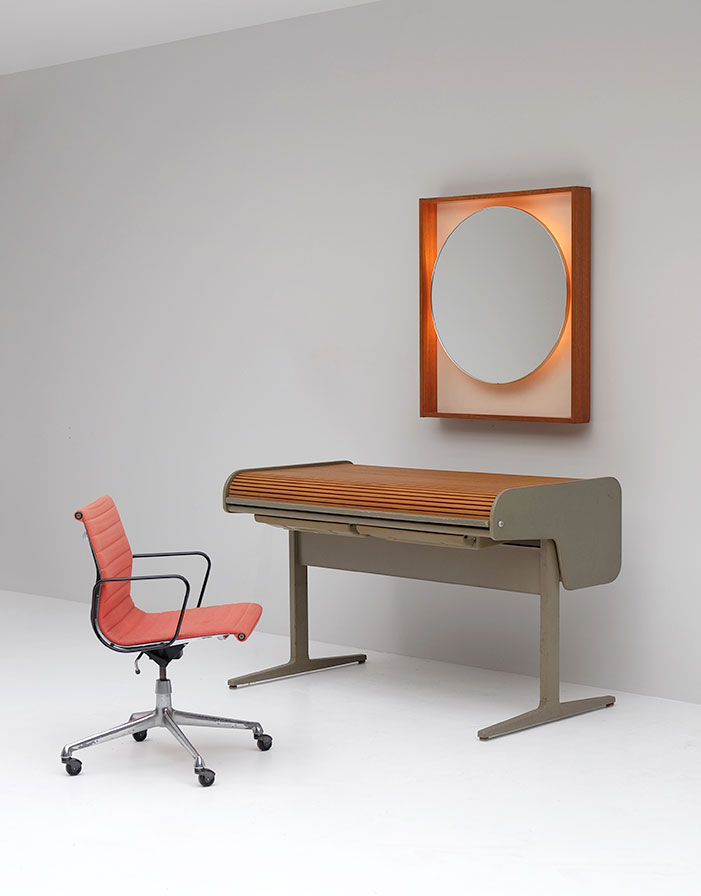 City furniture george nelson for herman miller action office desk - Herman miller office desk ...