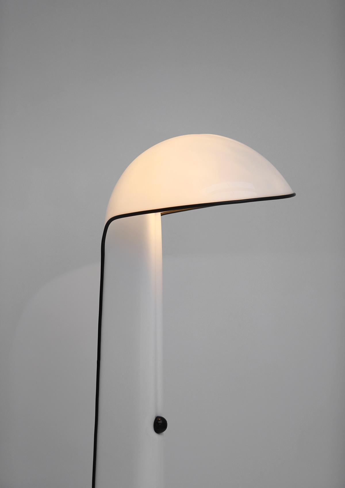Alba floor lamp by Sergio Brazzoli and Ermanno Lampa for Harvey Guzzini 1973image 2