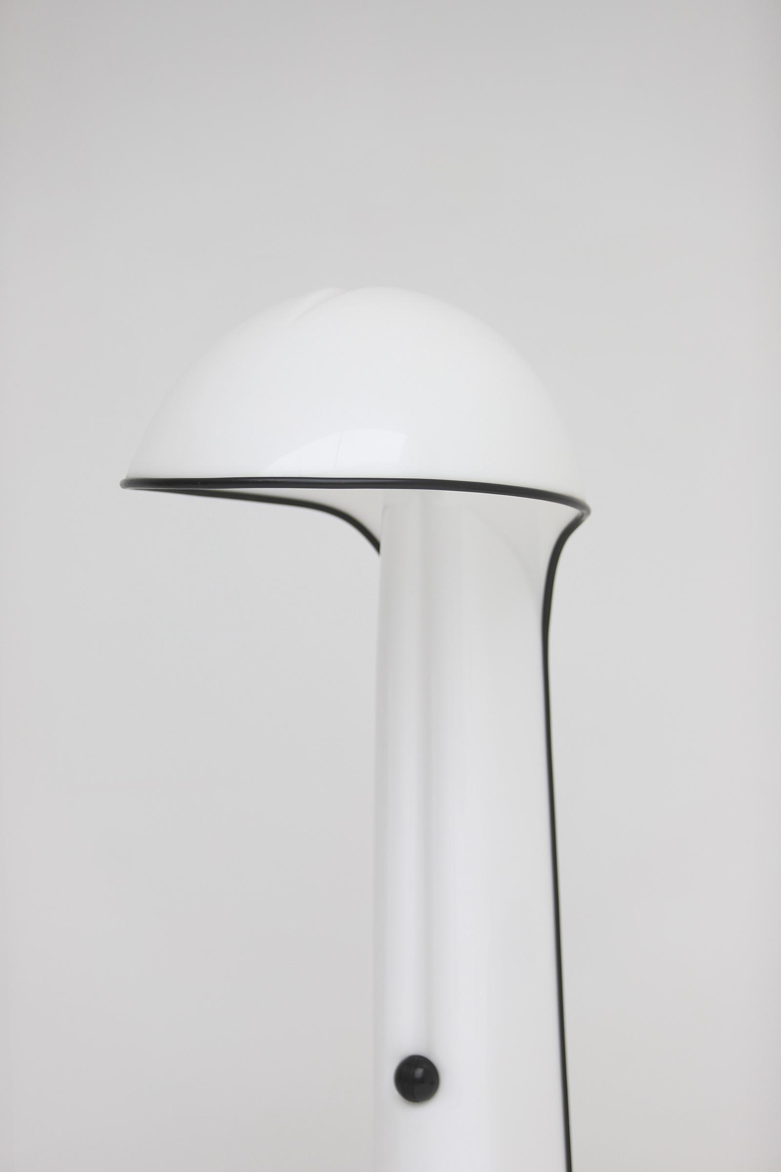 Alba floor lamp by Sergio Brazzoli and Ermanno Lampa for Harvey Guzzini 1973image 4