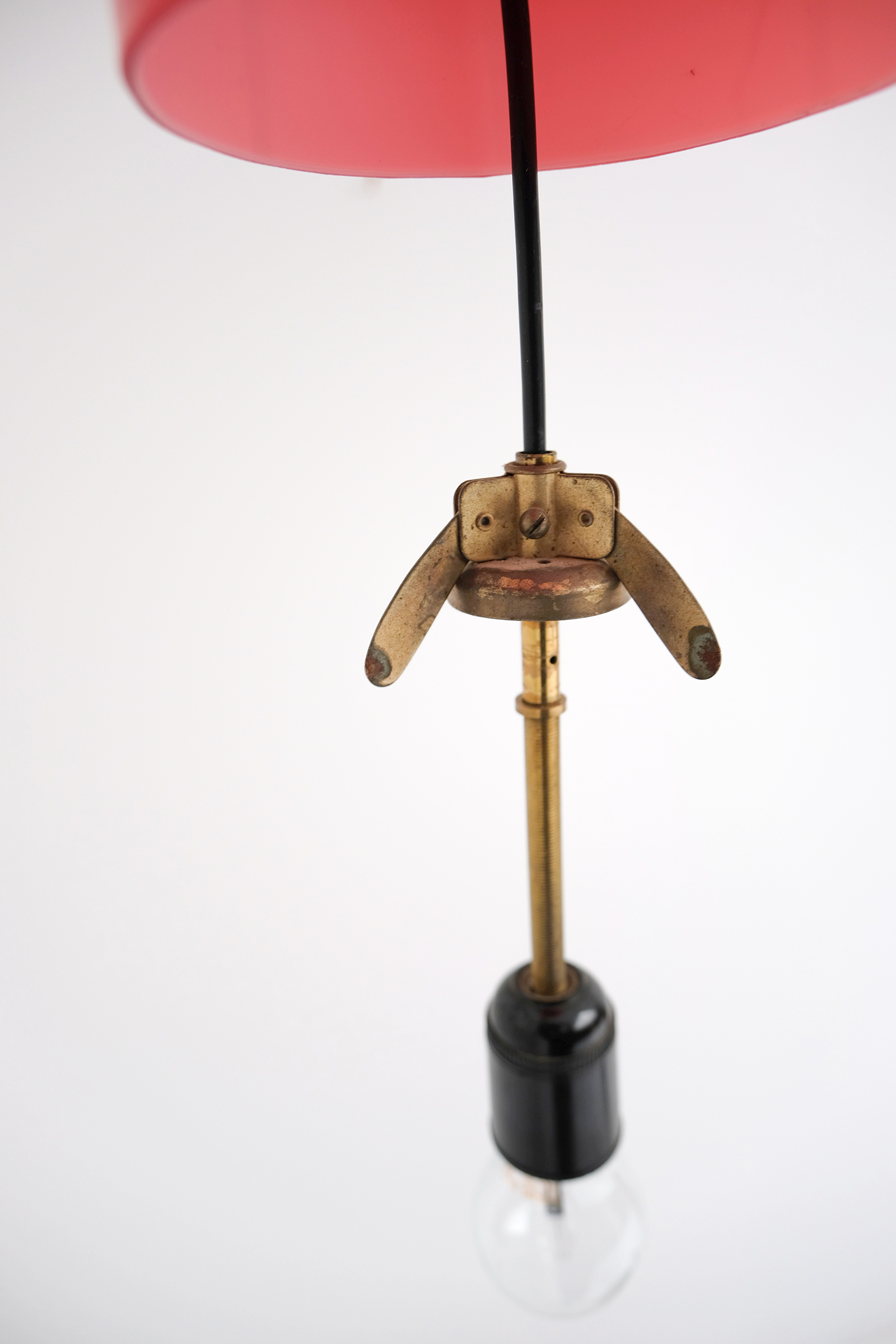 Alessandro Pianon Vistosi Pendant Lamp  Italy 1960image 5