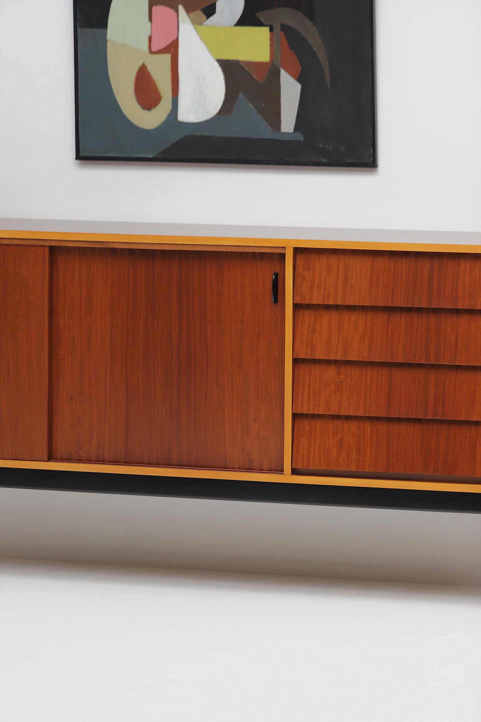 Alfred Hendrickx Belform 1950s Sideboard