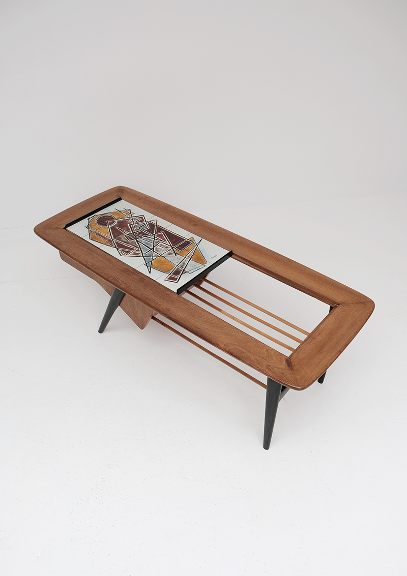1958 Coffee Table Designed by Alfred Hendrickx