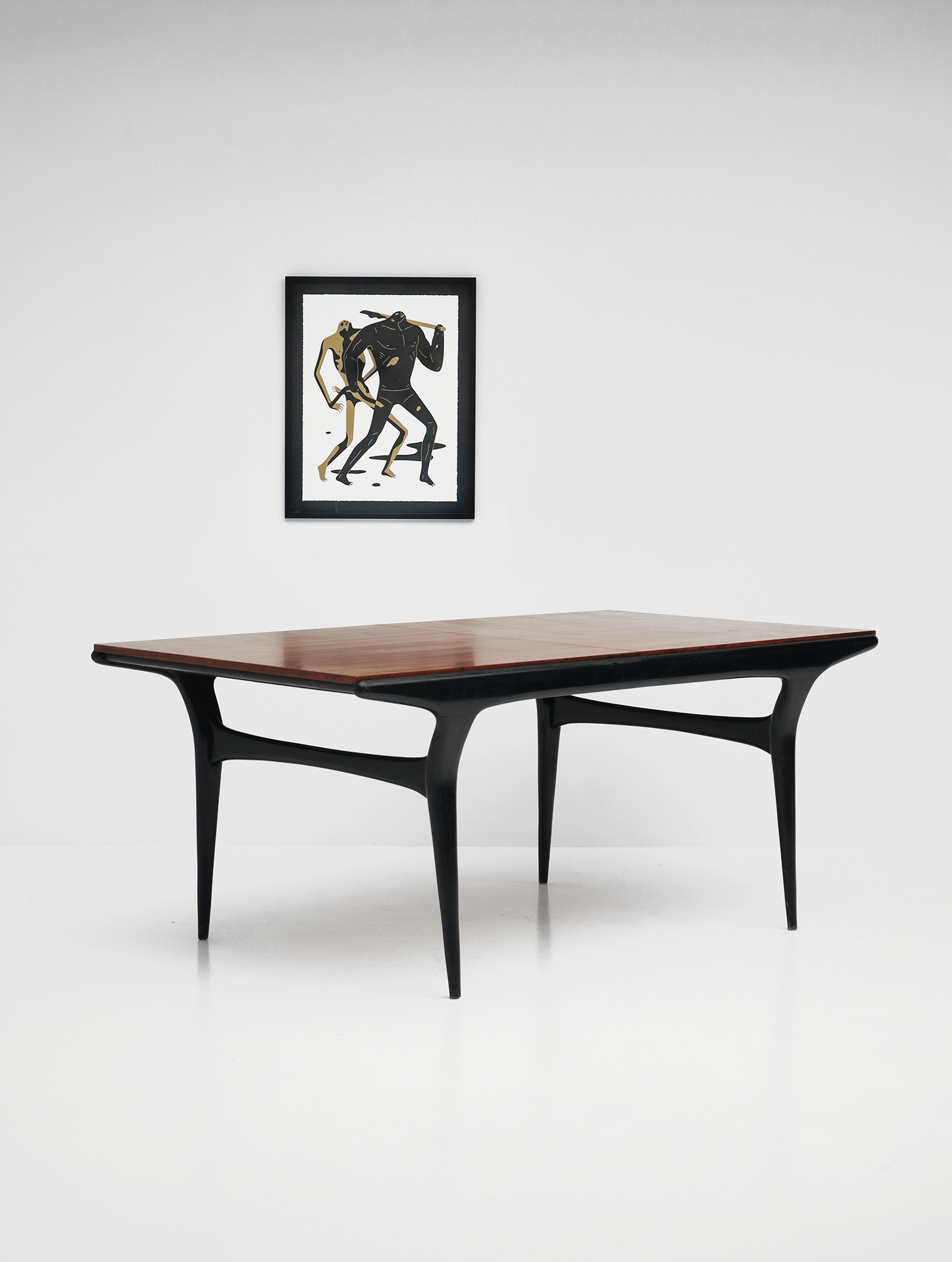 Alfred Hendrickx rare Belform Dining Table 1950simage 1