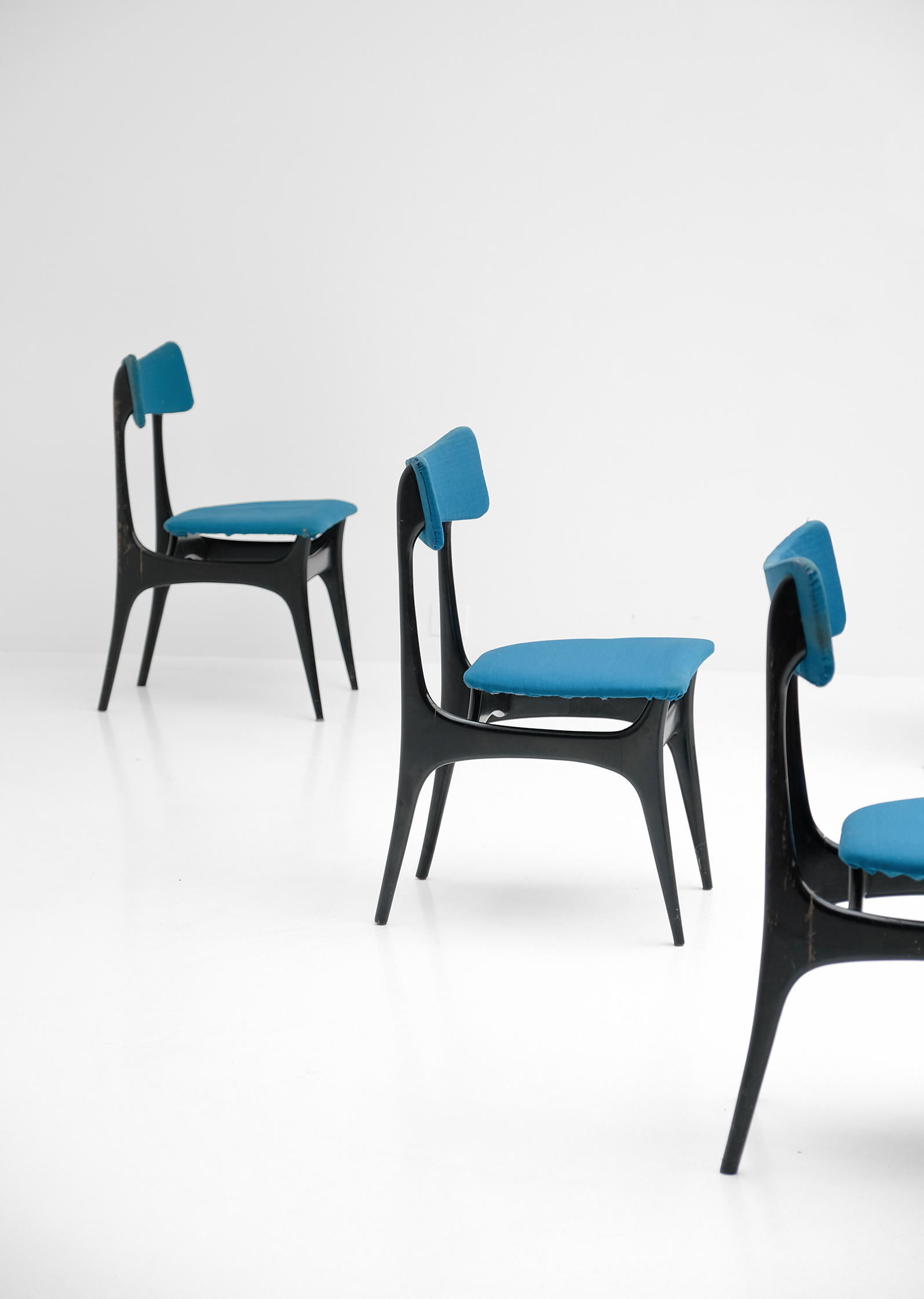 Alfred Hendrickx S3 Dining Chairs for Belform