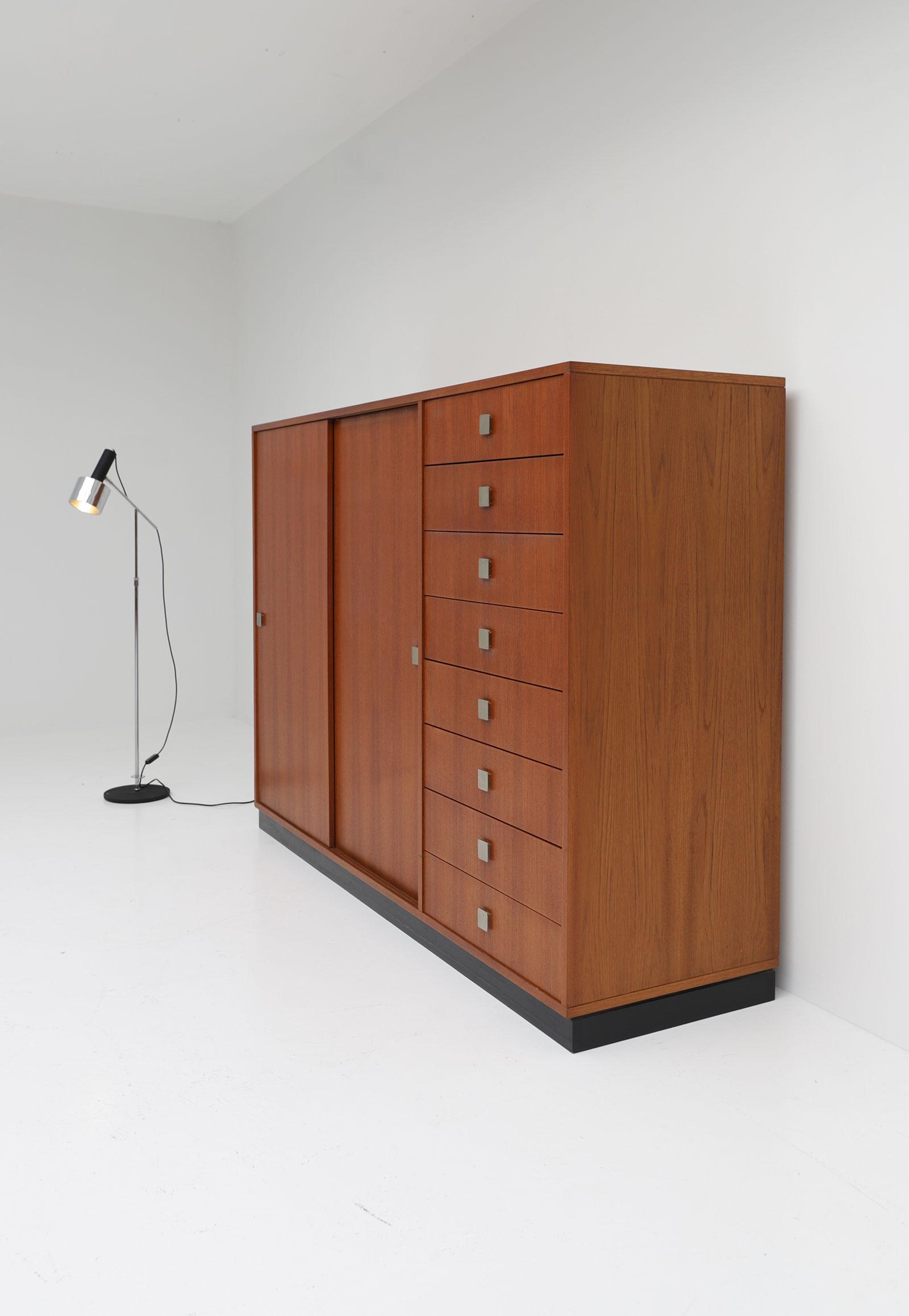 1960s Alfred Hendrickx for Belform Wardrobe