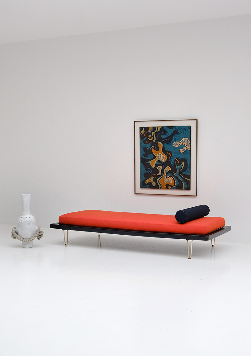 Exclusive daybed designed by Alfred Hendrickx