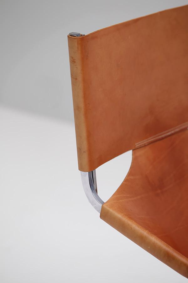Artifort Pierre Paulin Saddle Leather F444