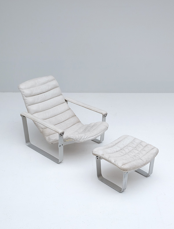 LOUNGE CHAIR BY ILMARI LAPPALAINEN FOR ASKOimage 3