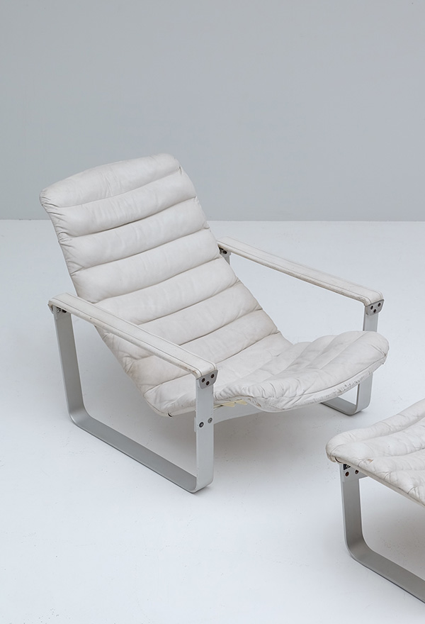 LOUNGE CHAIR BY ILMARI LAPPALAINEN FOR ASKOimage 6
