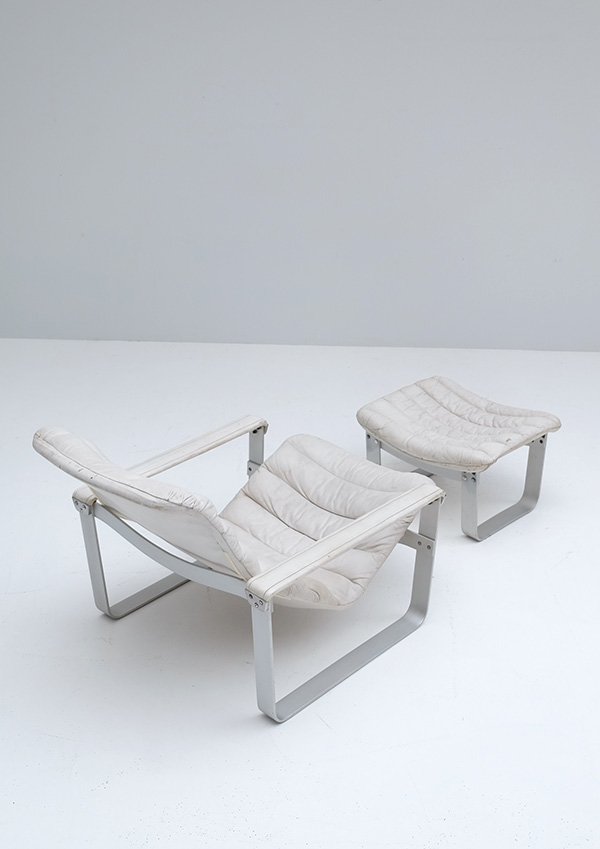 LOUNGE CHAIR BY ILMARI LAPPALAINEN FOR ASKOimage 4