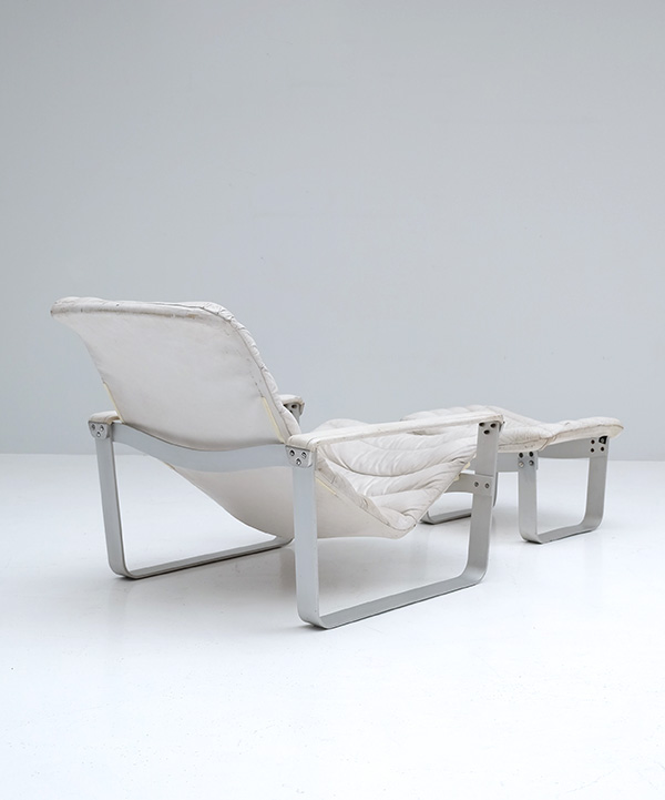 LOUNGE CHAIR BY ILMARI LAPPALAINEN FOR ASKOimage 8