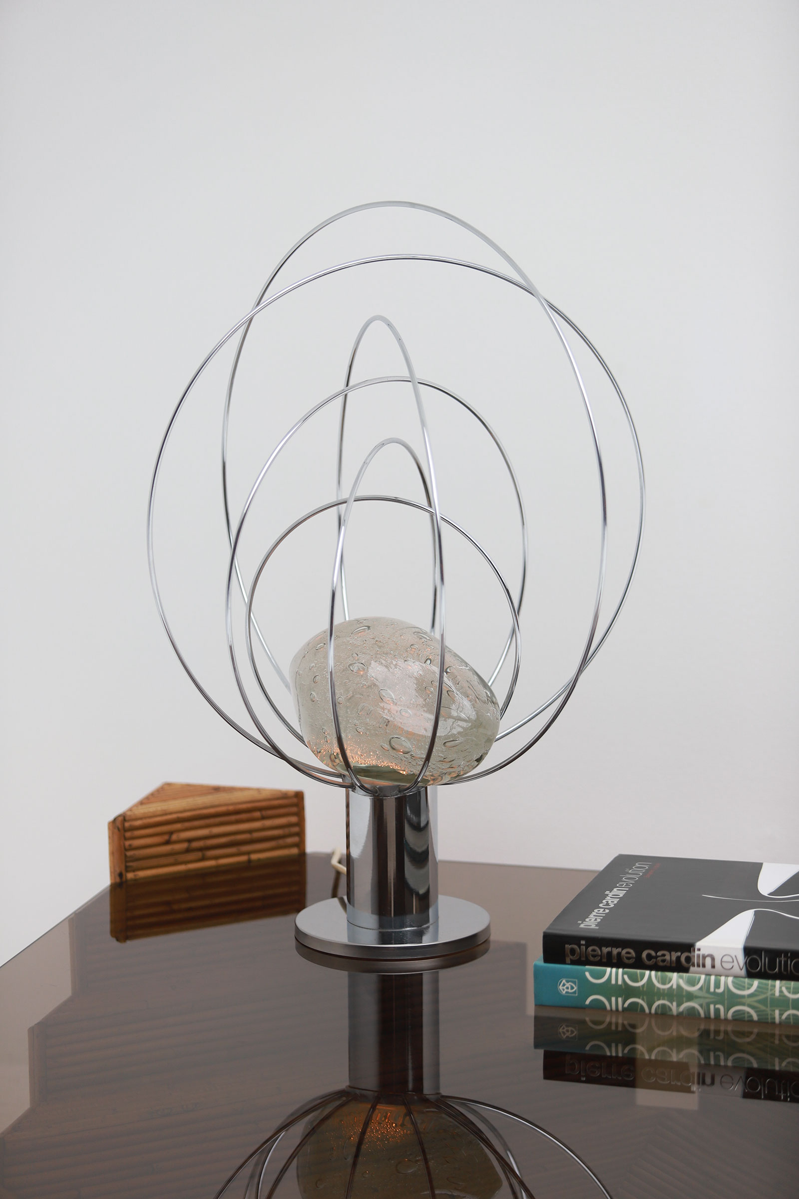 Barnaba  Table Lamp by Angelo Brotto for Esperiaimage 2