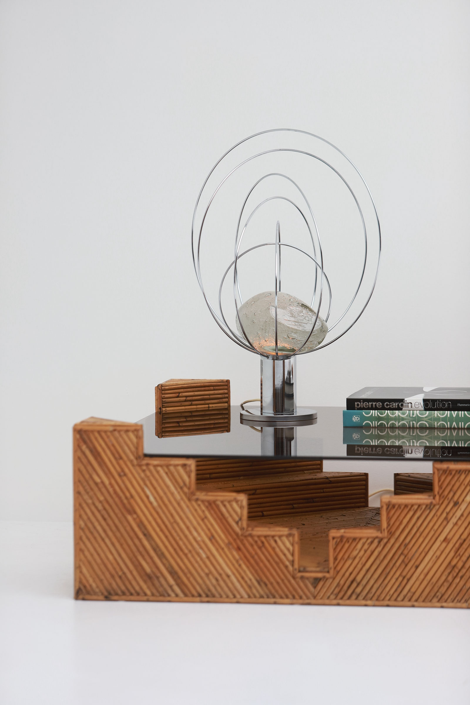 Barnaba  Table Lamp by Angelo Brotto for Esperiaimage 3