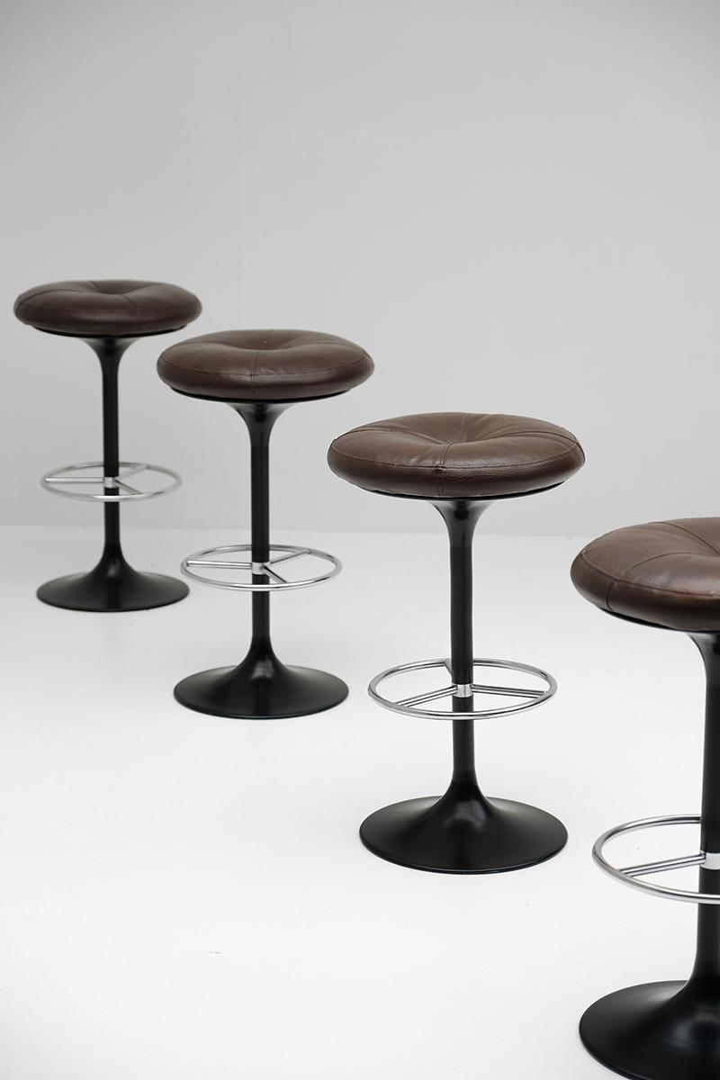 Borge Johansson Bar Stools by Johansson Designimage 5