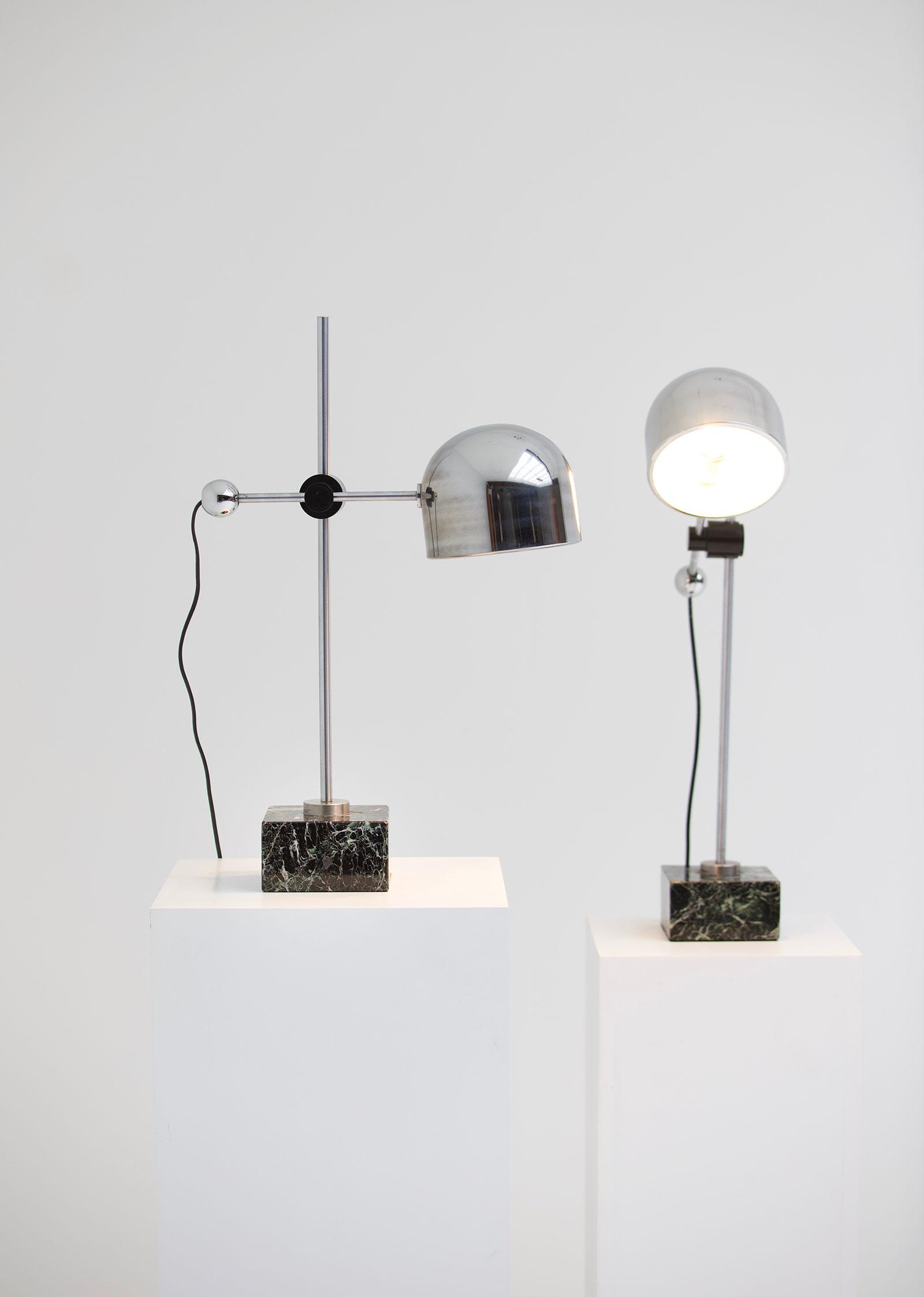 Barcelona Lumm Chrome Lamps