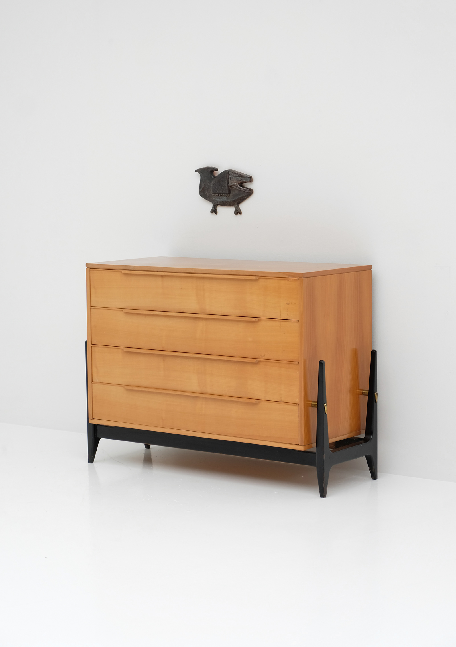 Elegant Belgian 1950s Commode