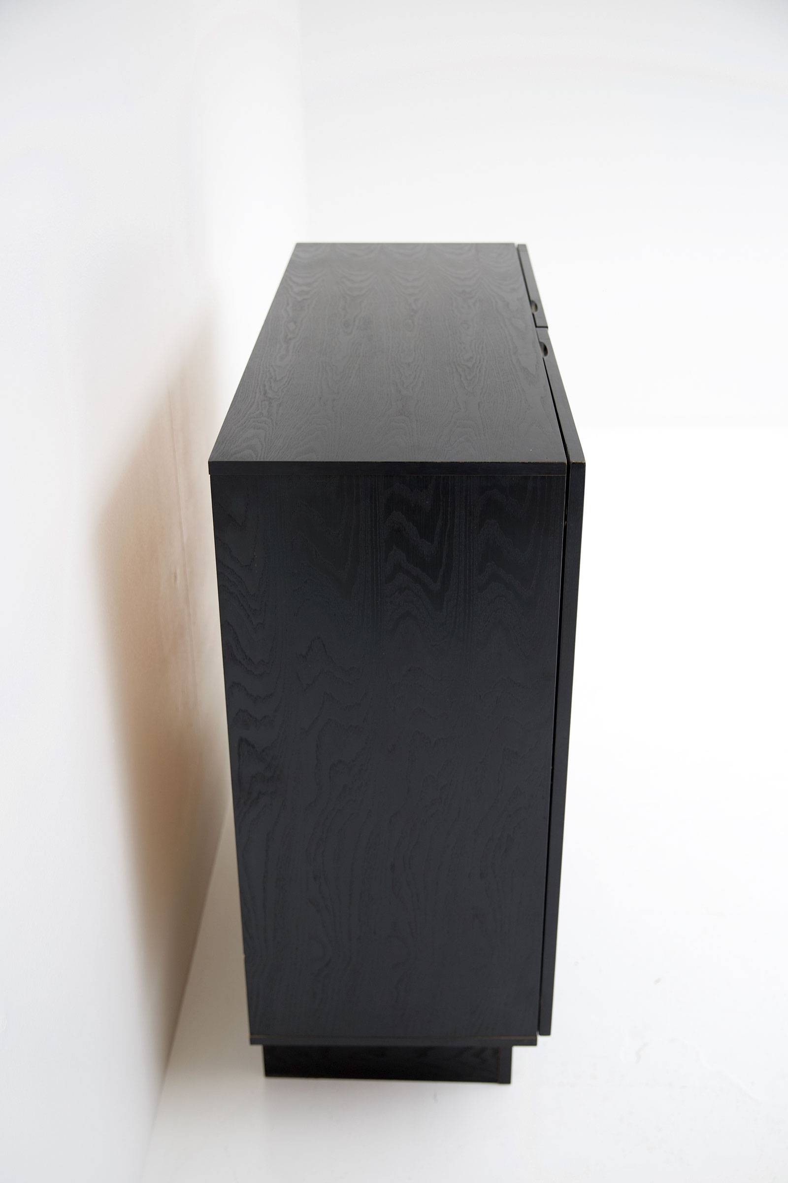 Black Ebonised Brutalist Bar / Cabinetimage 10