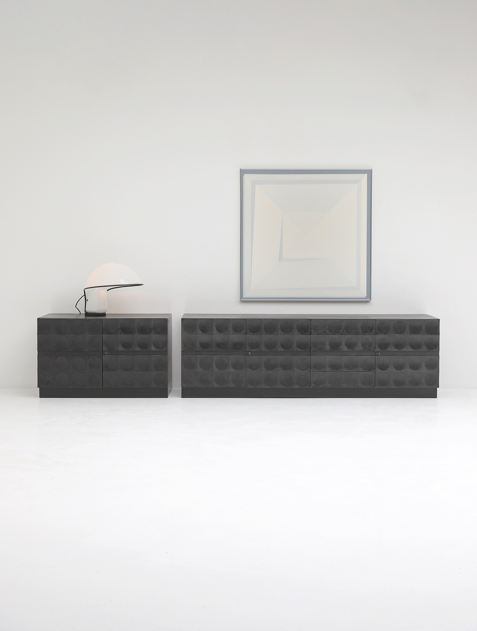 Large Credenza with Graphic Doors circa 1970image 15