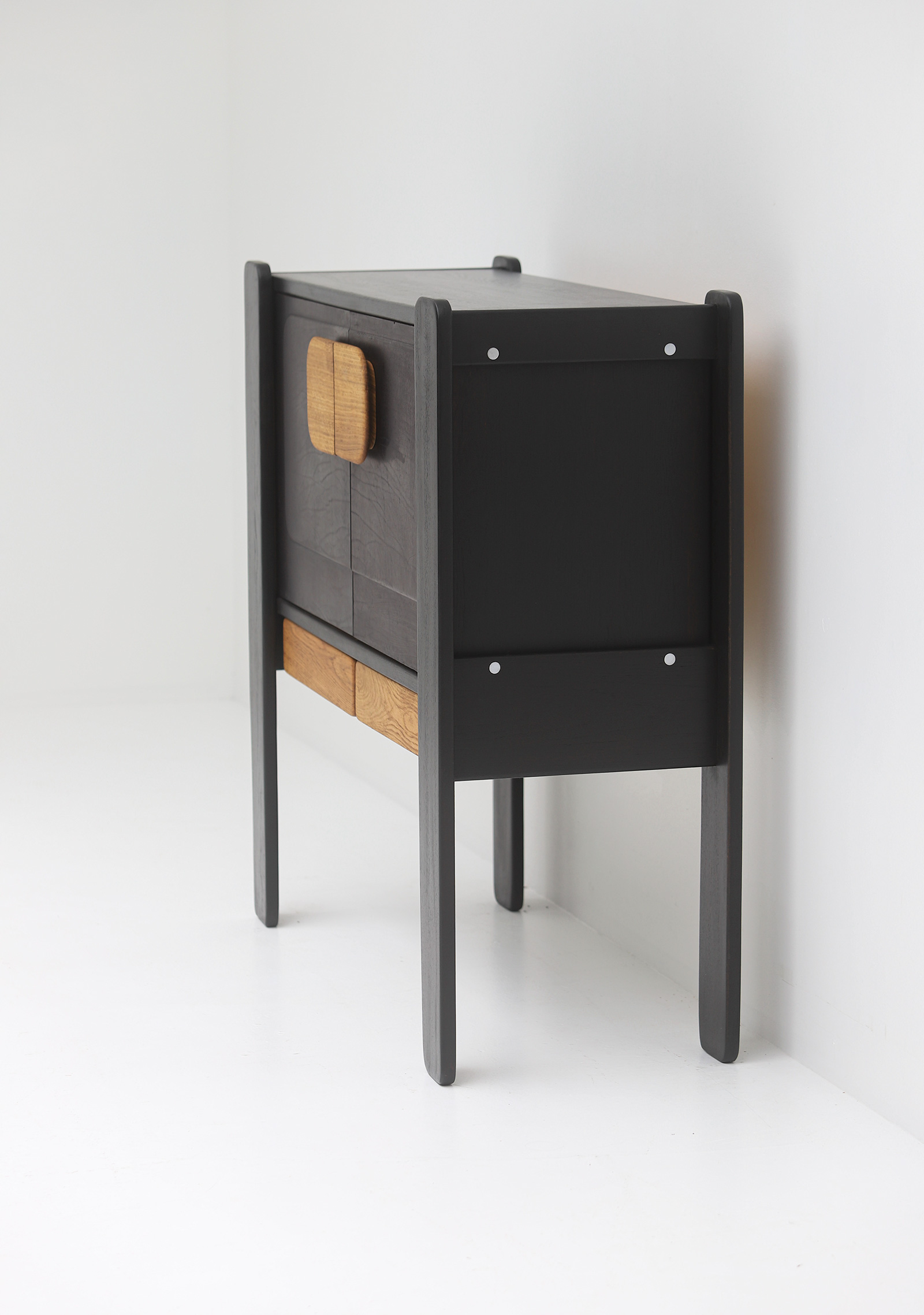 1970 tall wooden cabinetimage 7