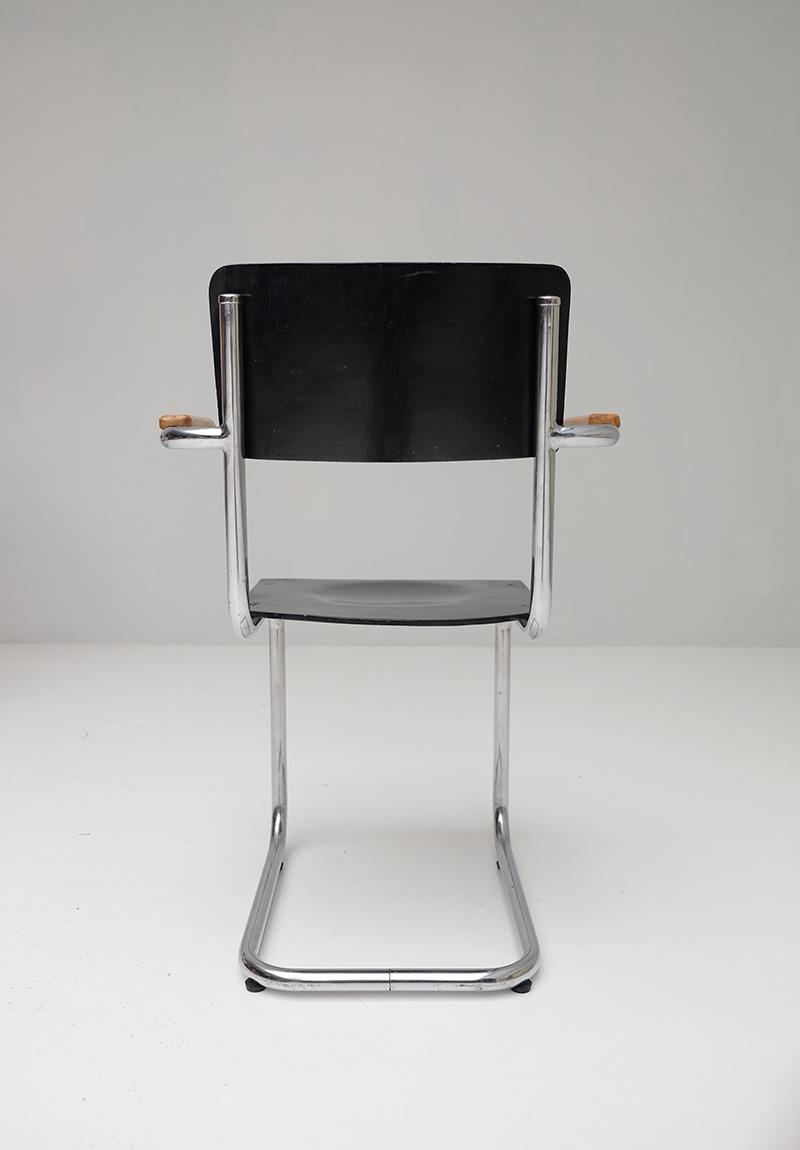 Bauhaus Cantilever Armchairs