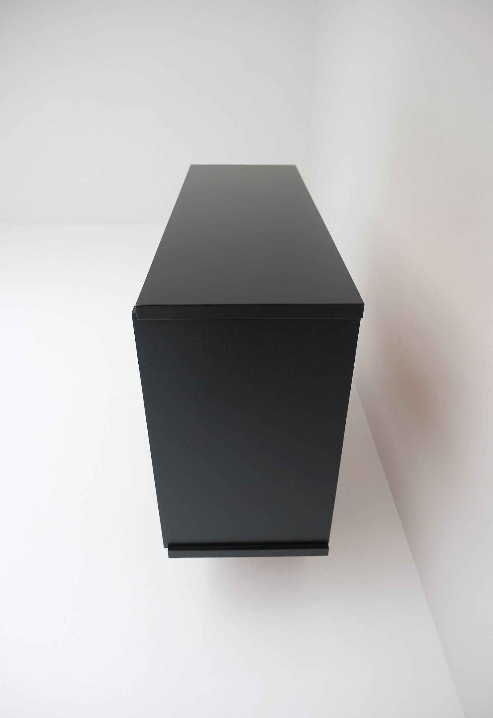 1970S BLACK EBONIZED CABINET BELGIAN MADEimage 11