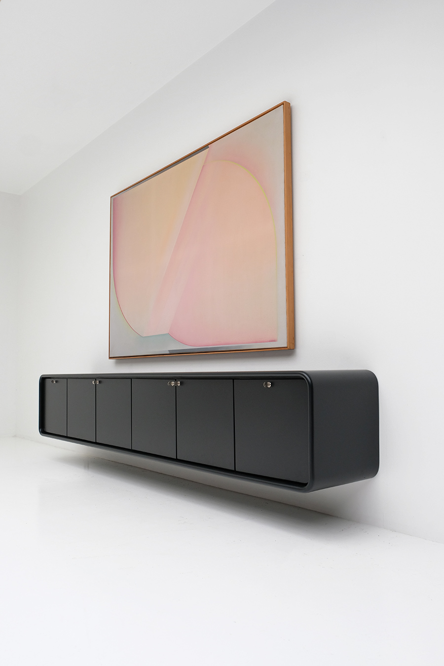 floating space age sideboard image 11
