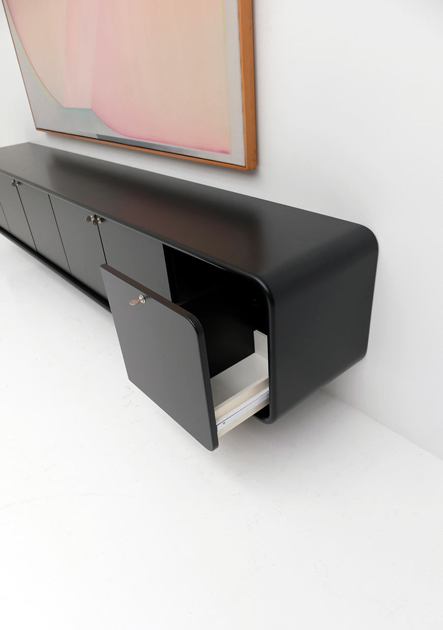 floating space age sideboard image 8