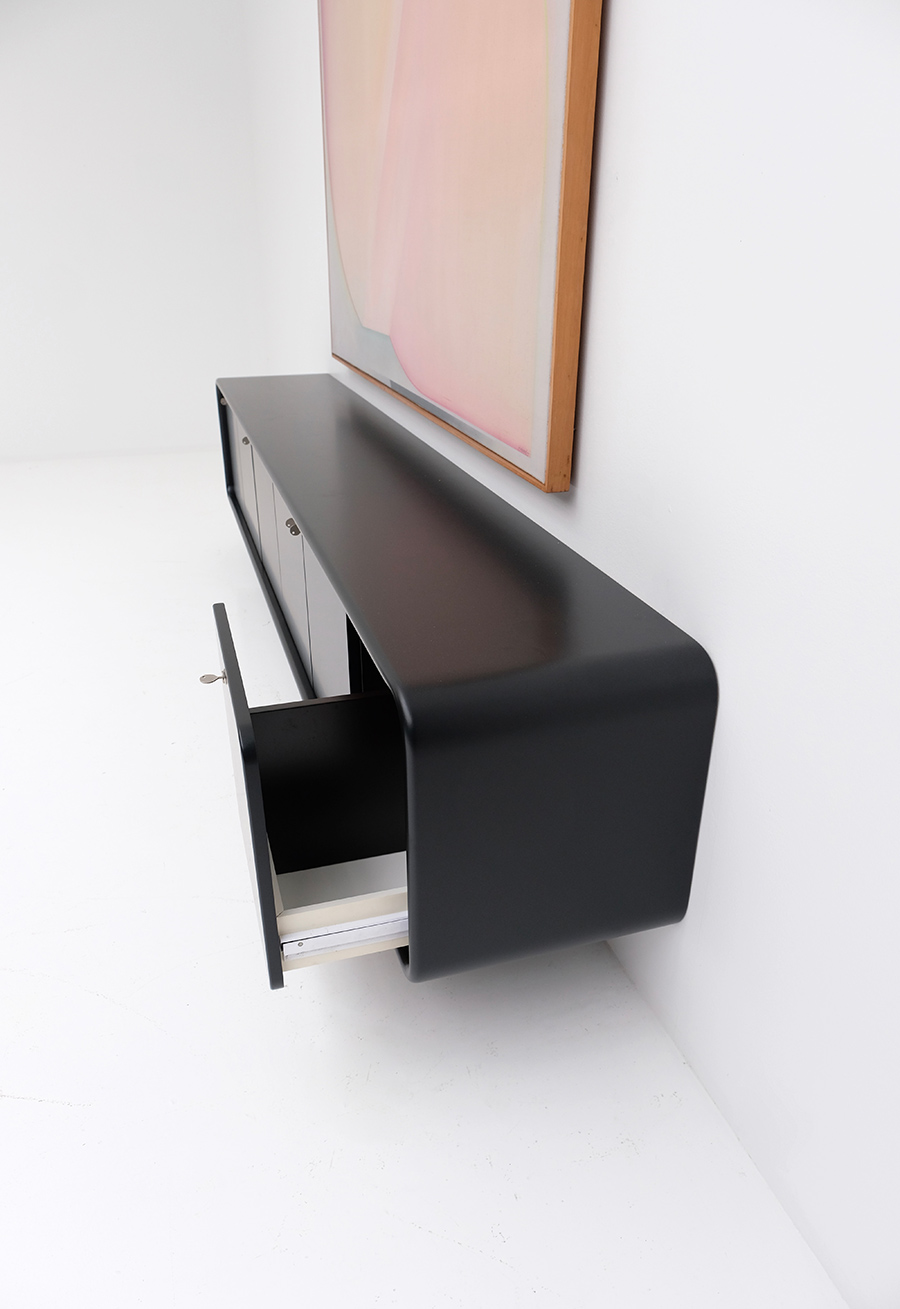 floating space age sideboard image 9