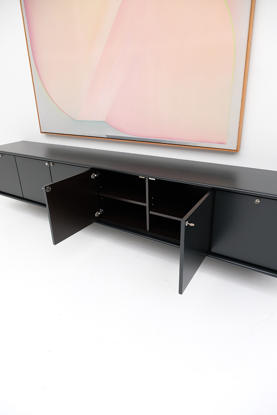 floating space age sideboard image 13