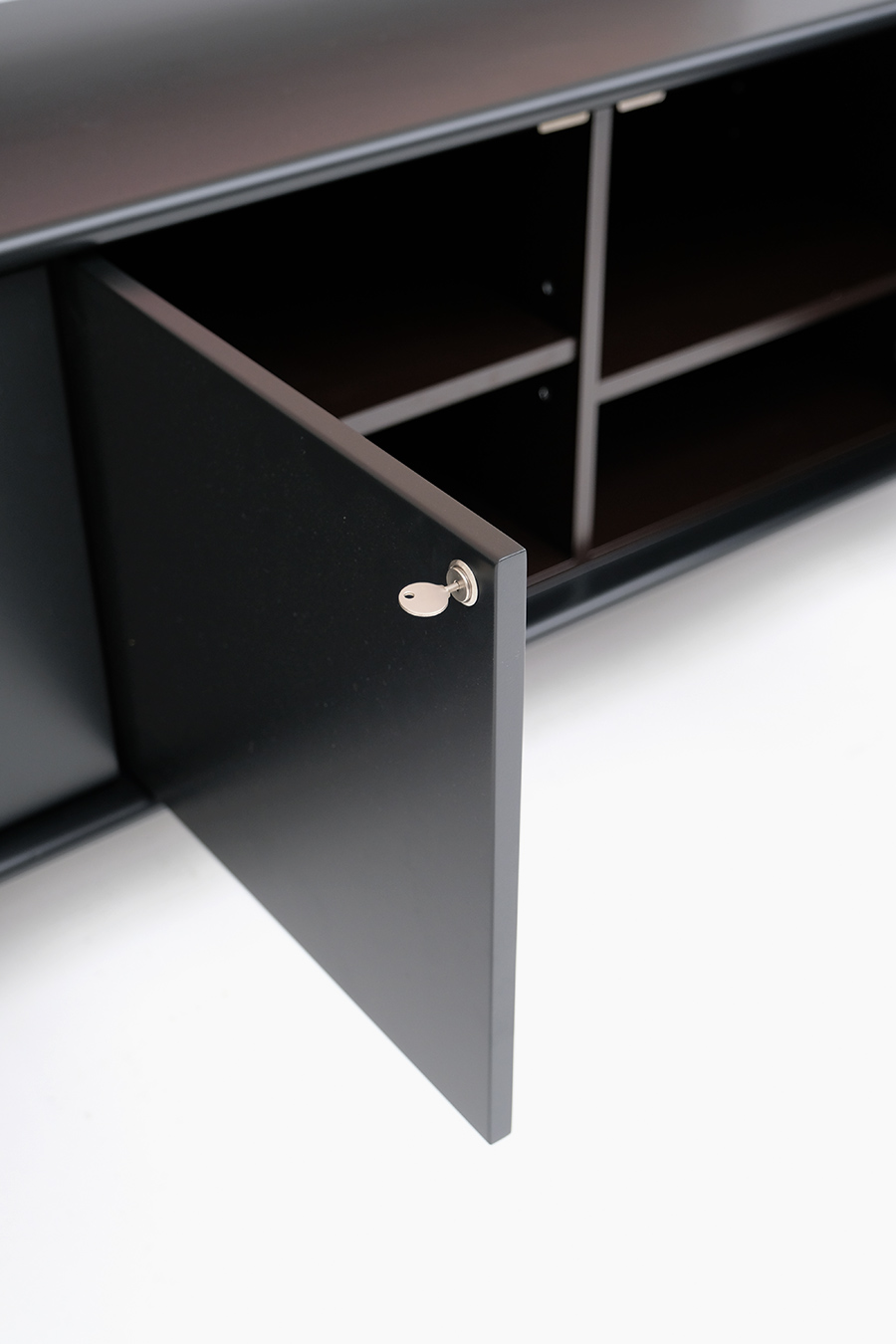 floating space age sideboard image 14