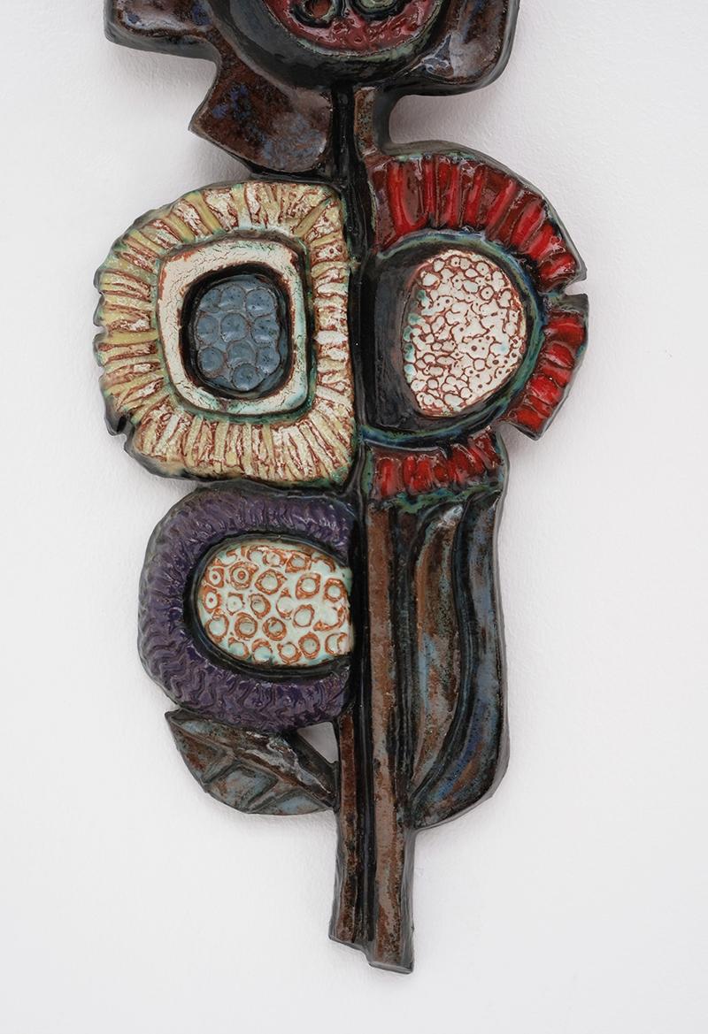 Ceramic flower Paul Vermeire Perignem