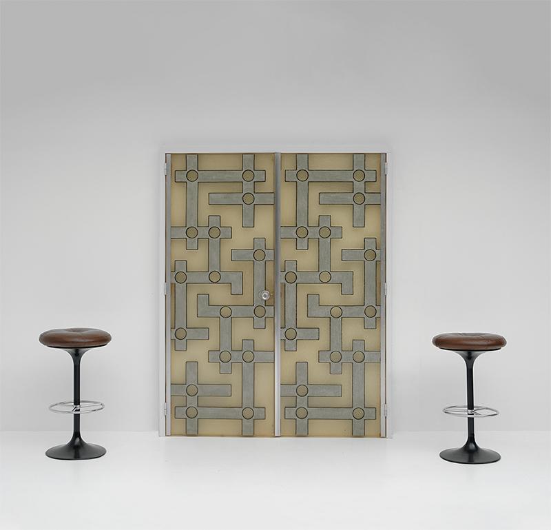 Brutalist Interior Doors in Resinimage 1