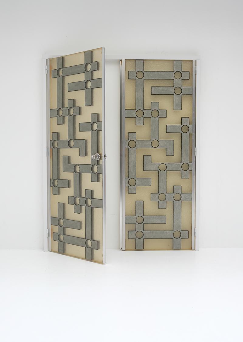 Brutalist Interior Doors in Resinimage 5