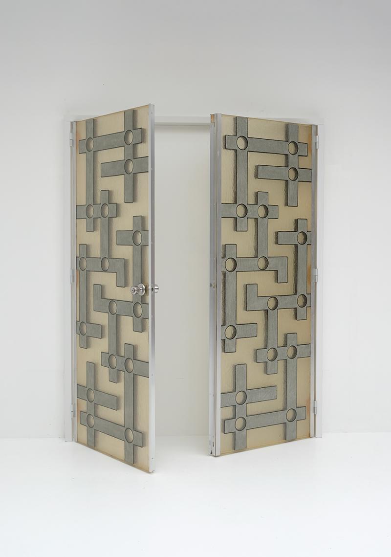 Brutalist Interior Doors in Resinimage 2