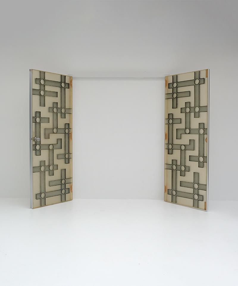 Brutalist Interior Doors in Resinimage 6