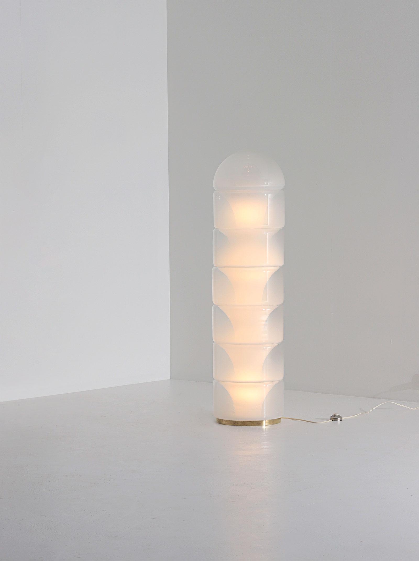 LT316 floor lamp by Carlo Nason for Mazzegaimage 3